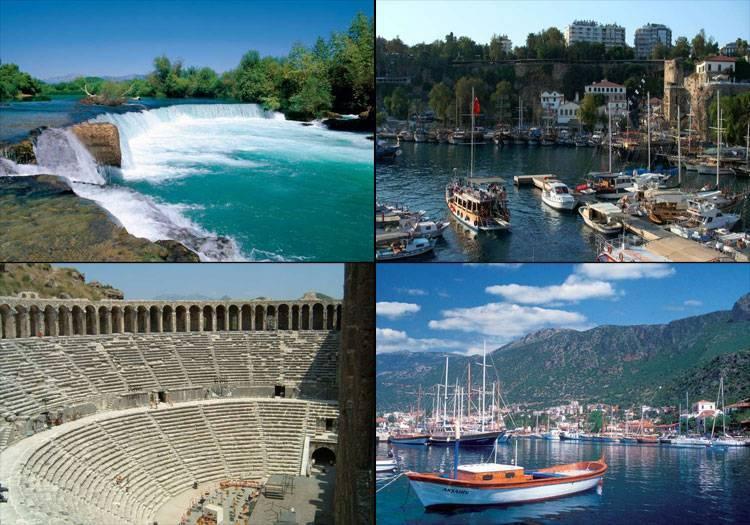 Antalya'da gezilecek yerler