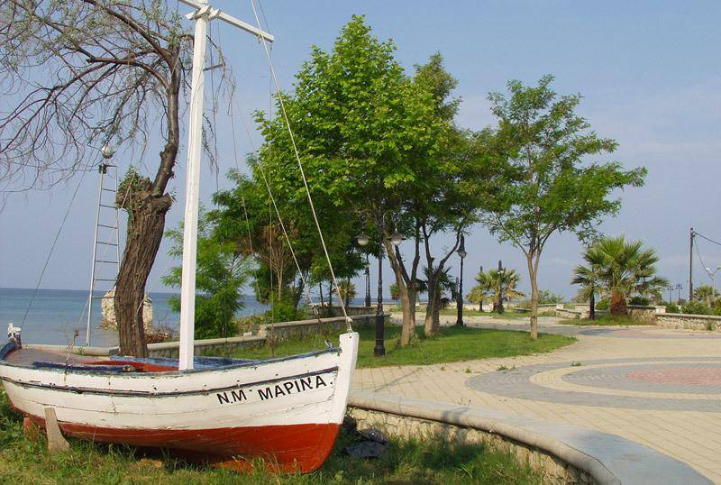 Resorts Nea Potidea sea
