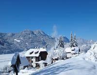Ferienhof Obergasser und Bergblick