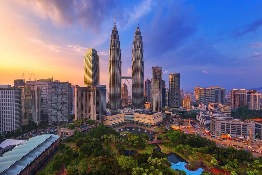 Petronas Kuleleri'ni görün