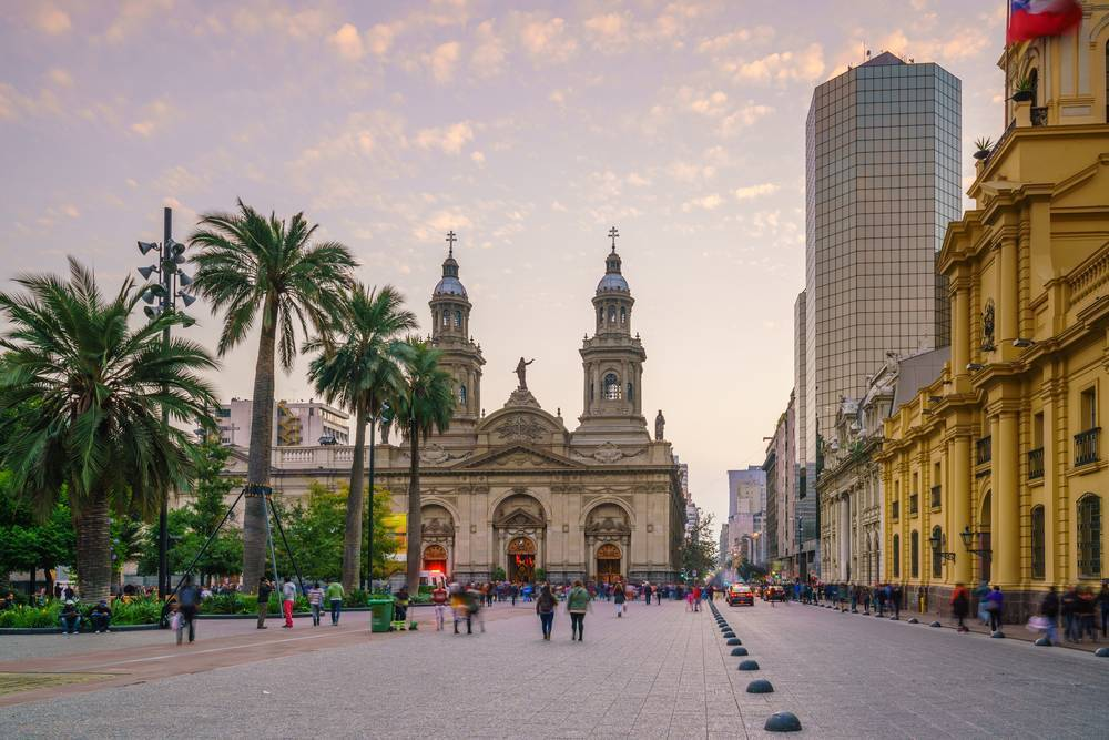Plaza de Armas'ta şehrin muhteşem tarihi binalarını görün