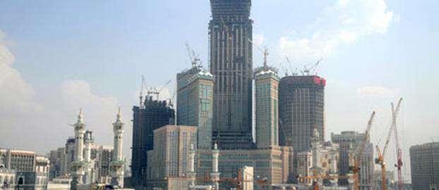 Dünyanın en büyük oteli Mekke'de inşa ediliyor