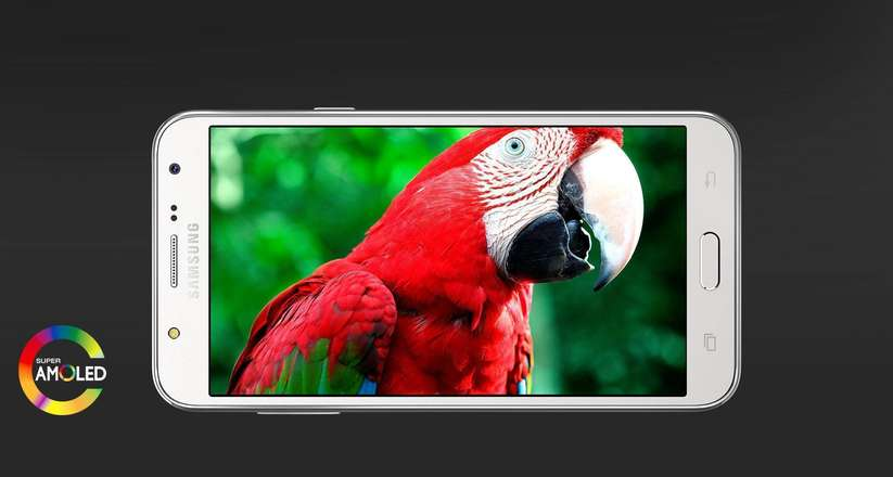 Galaxy J7 Ekran