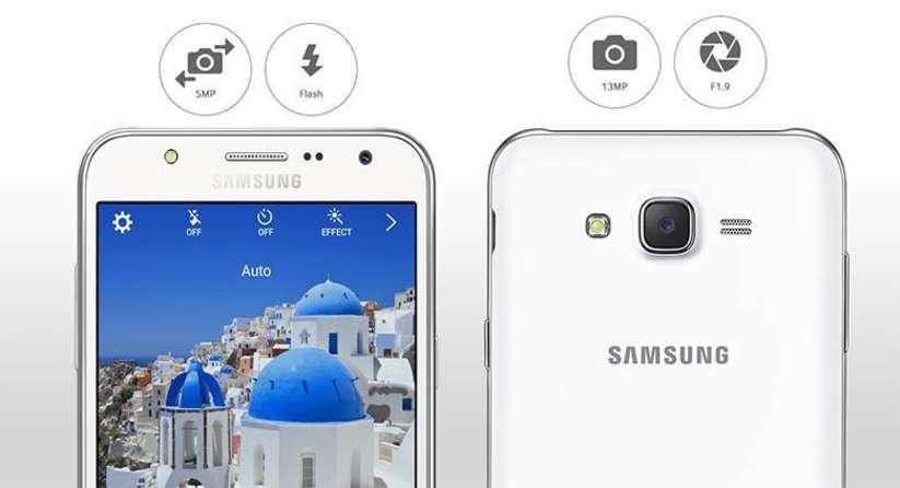 Galaxy J7 Kamera