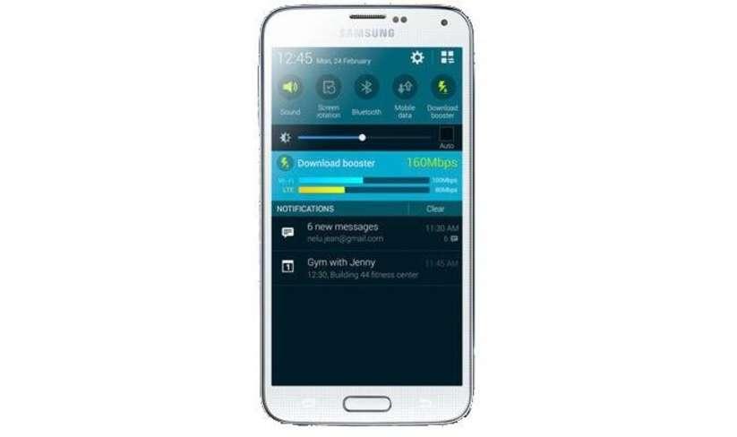 Galaxy S5 Hız