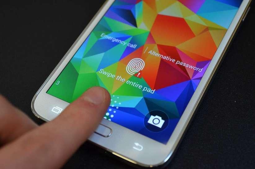 Galaxy S5 mini parmak izi