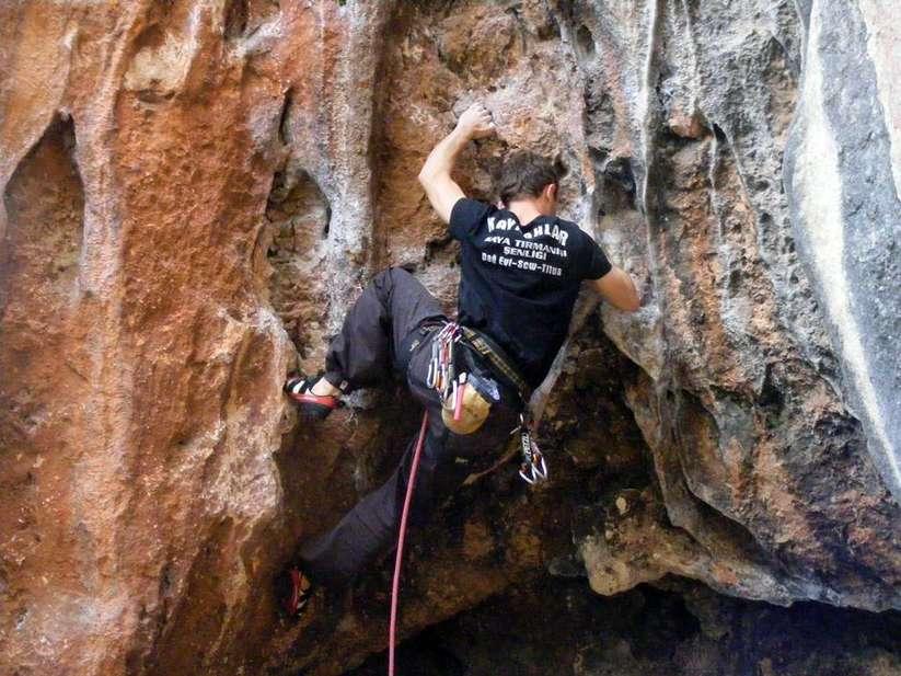 Kaya tırmanışı