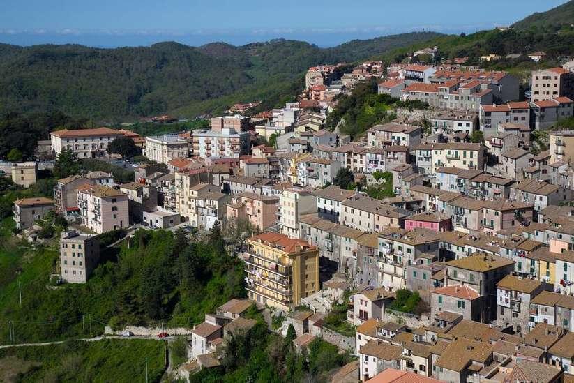 Lazio tolfa dağları