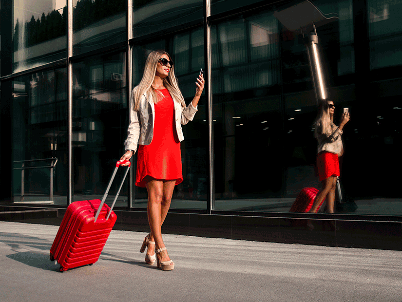 Işıltılı dünyanın gezginleri: Lüks valizliler