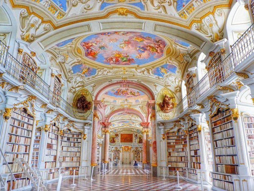 Admont Manastırı Kütüphanesi, Admont