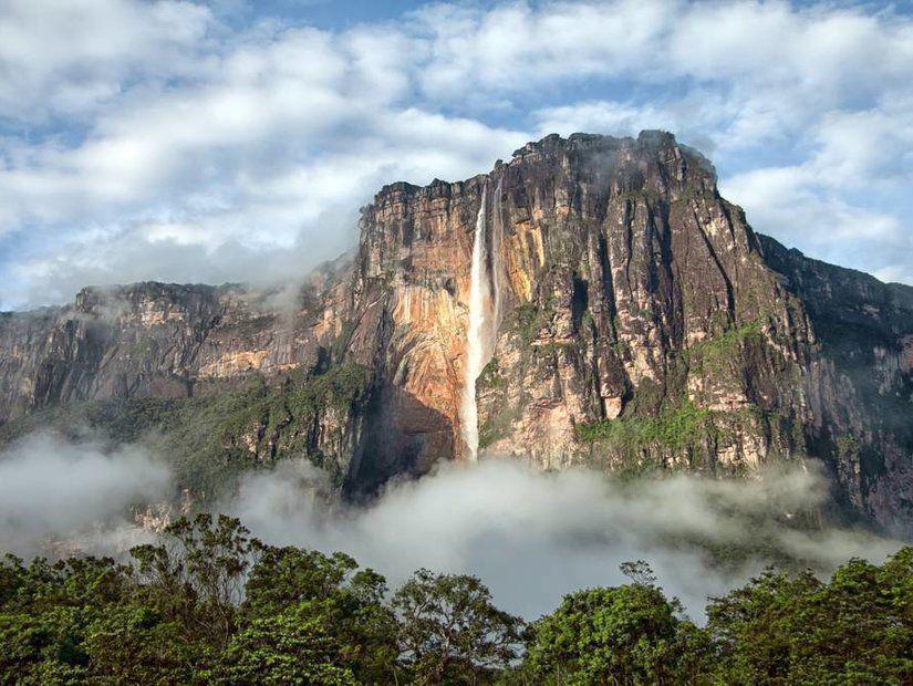 13- Dünyanın en yüksek şelalesi