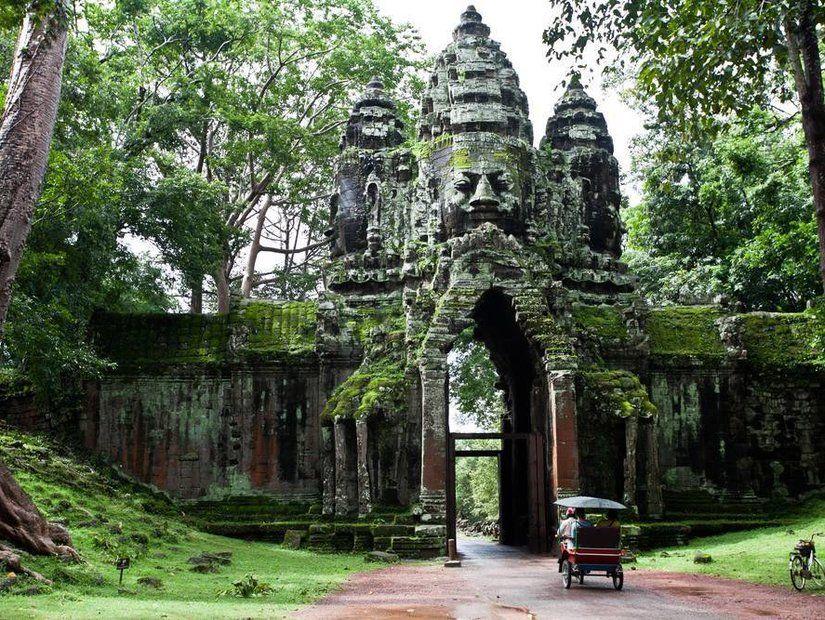 3- Angkor Vat Tapınakları – Kamboçya