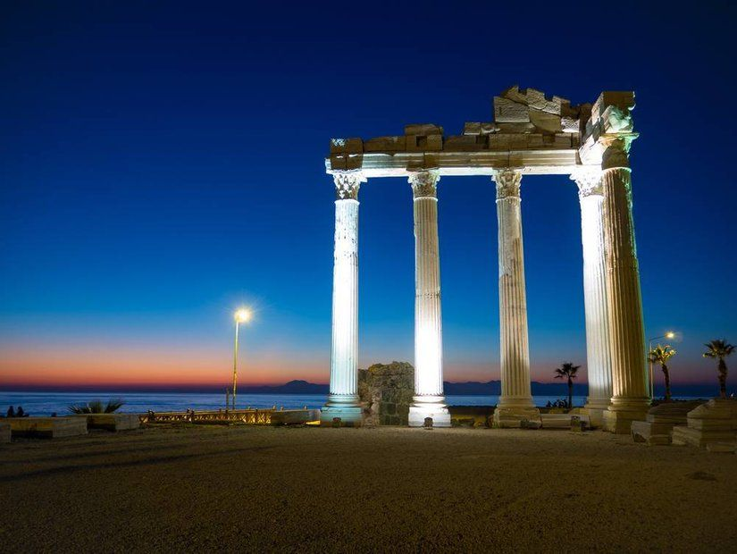 1- Antalya'ya Ekim'de hafta sonu uçuşları 45 TL'den itibaren