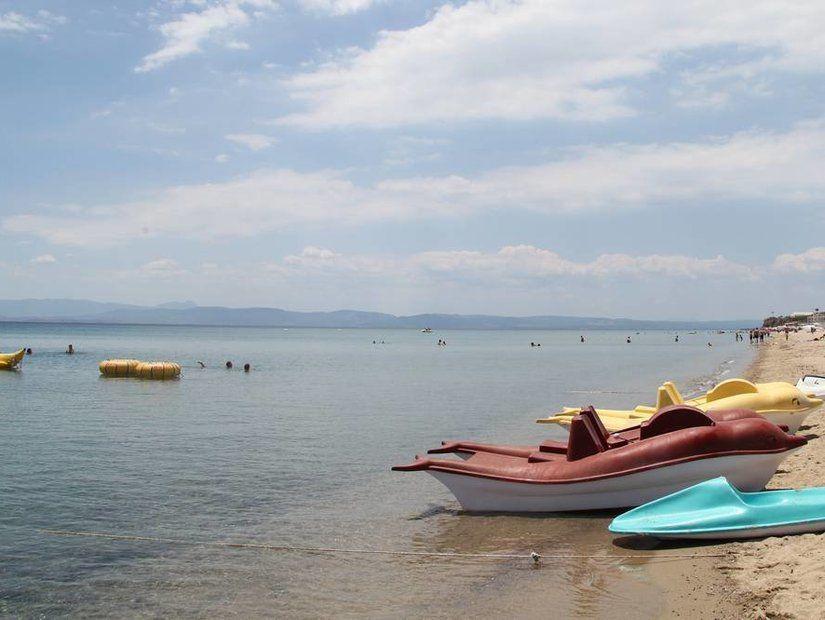 Sarımsaklı Altınkum Plajı (Ayvalık)