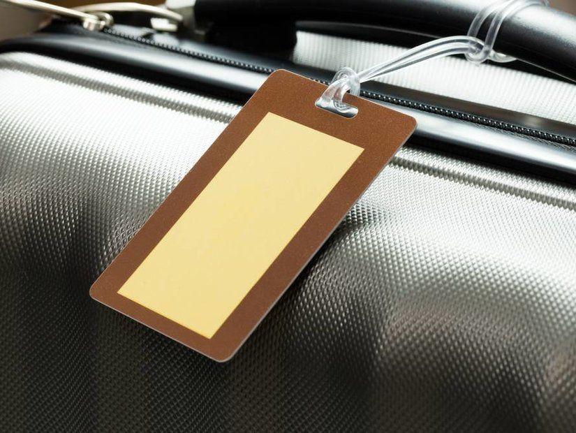 2- Eski bagaj etiketlerini temizleyin