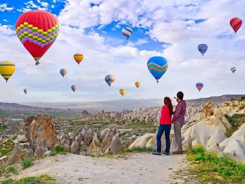 5- Taşların yarattığı dünya Kapadokya