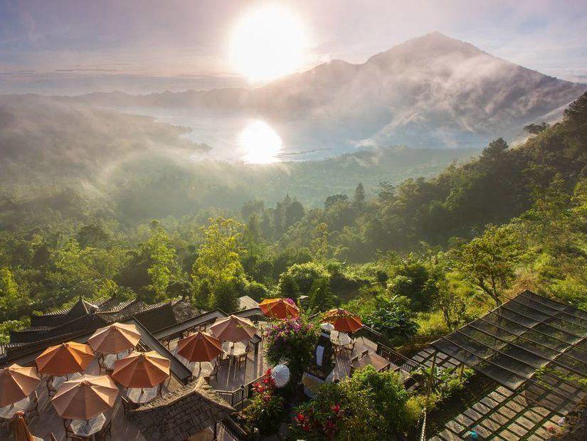 1- Batur Dağı'nda güneşin doğuşunu izle