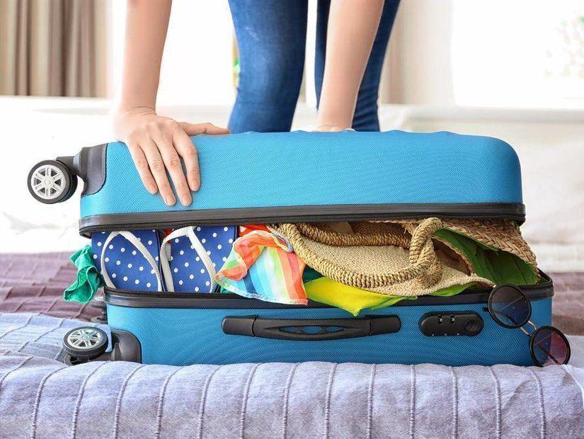2- Ağır giyecekleri üzerinizde taşıyın