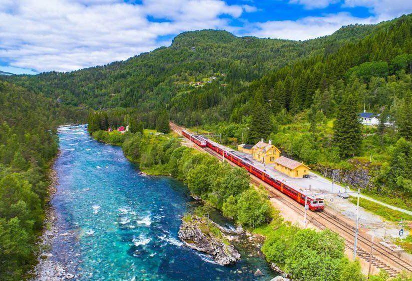 6- Bergen Demiryolu / Norveç
