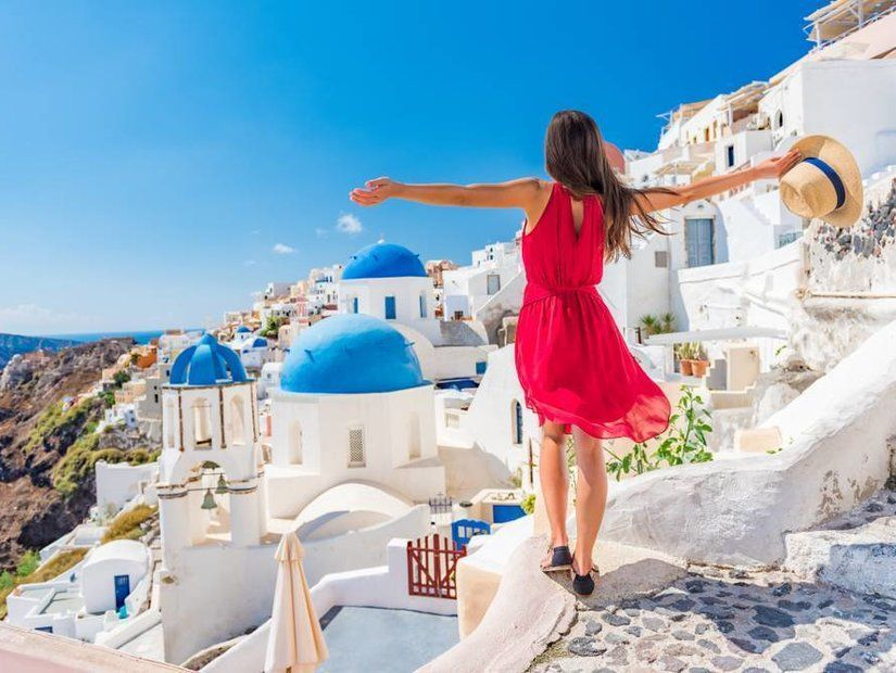 4.Santorini, Yunanistan