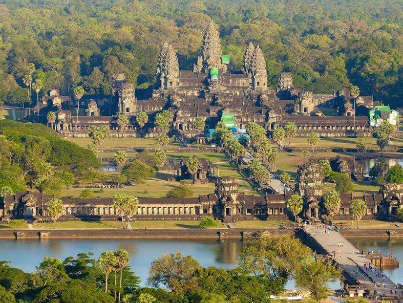 5- Angkor Wat tapınaklarını keşif
