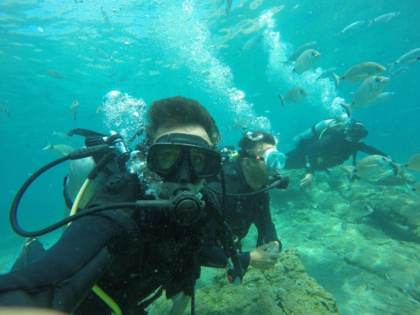 Bodrum Büyük Resif'te dalış