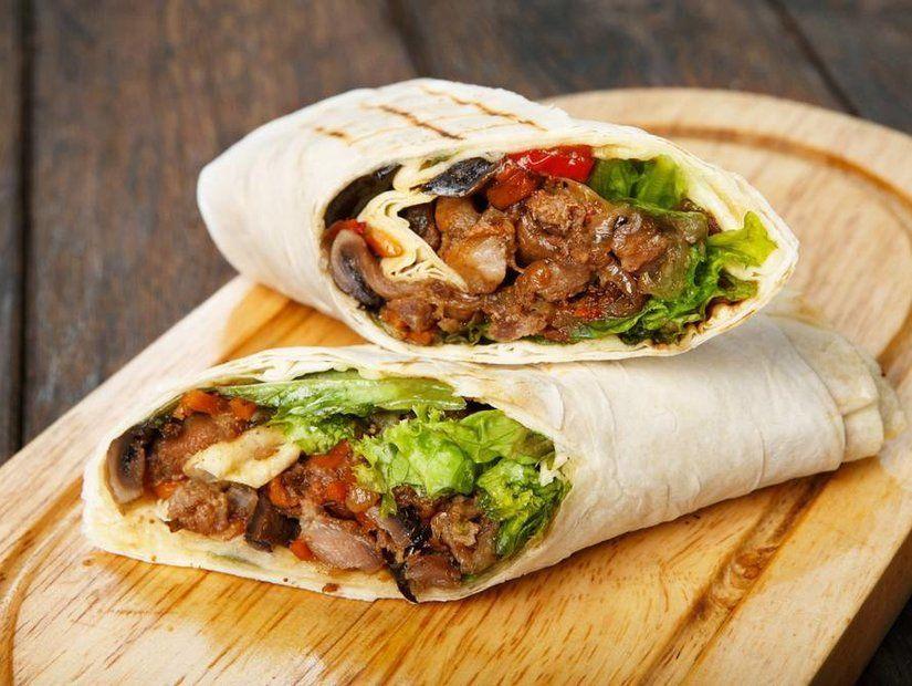 8- Burritoların iş birliği enchiladas