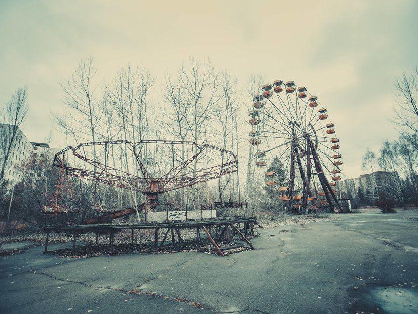 4- Çernobil şehirleri – Ukrayna