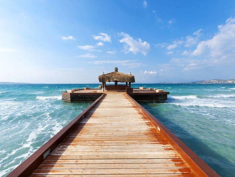 Ilıca'da denize gir