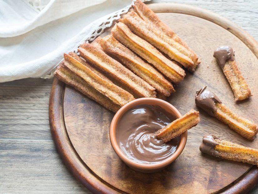 10- Çikolata aşkına churros