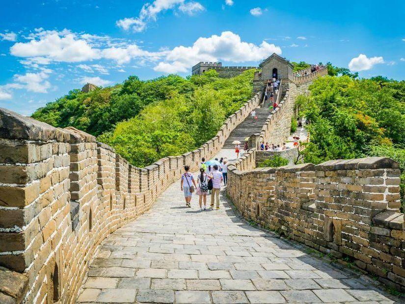 2- Tarihi Çin Seddi boyunca yürüyüş