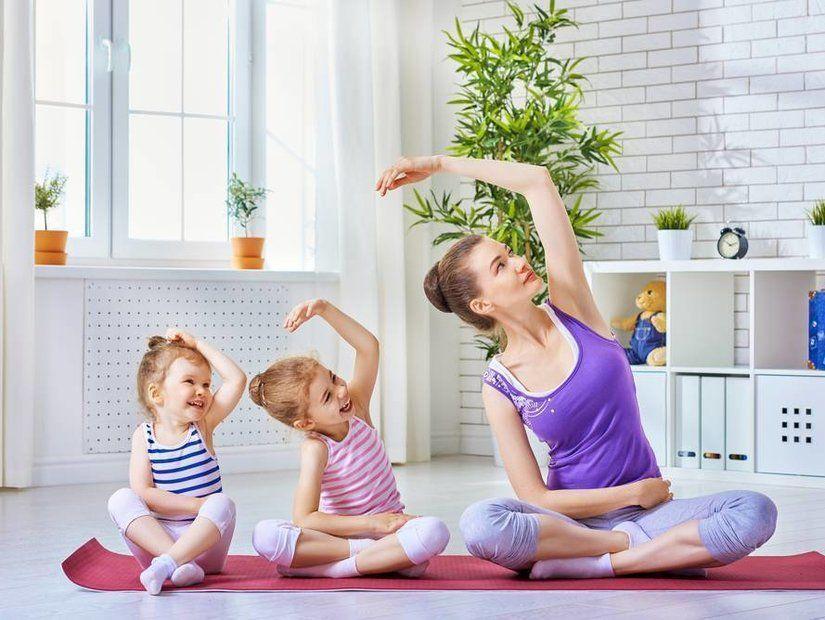 Yoga yapın, dans edin