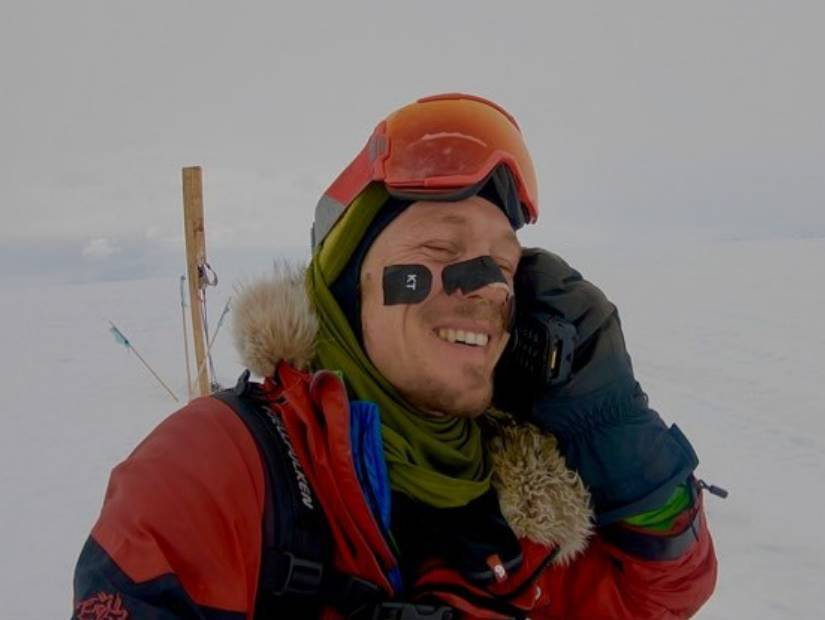 Antarktika kıtasını tek başına geçen Colin O'Brady