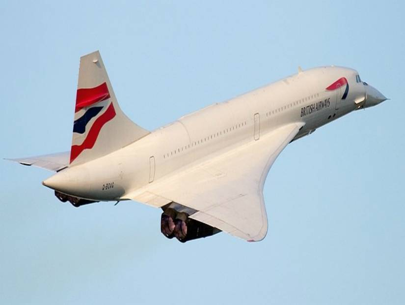 7 Şubat 1996 British Airways Concorde New York - Londra Uçuşu