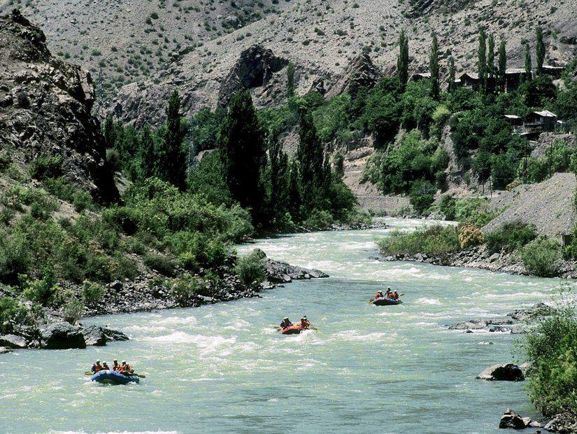 Çoruh Nehri'nde rafting
