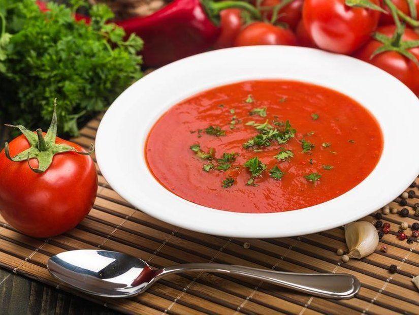 1- Domates çorbası sevenlere
