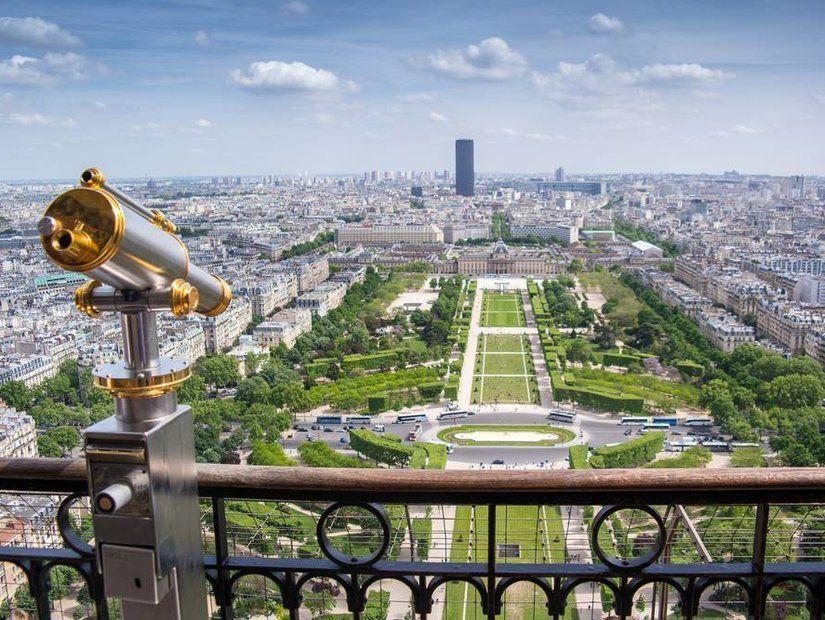 3- Eyfel Kulesi'nden Paris seyri