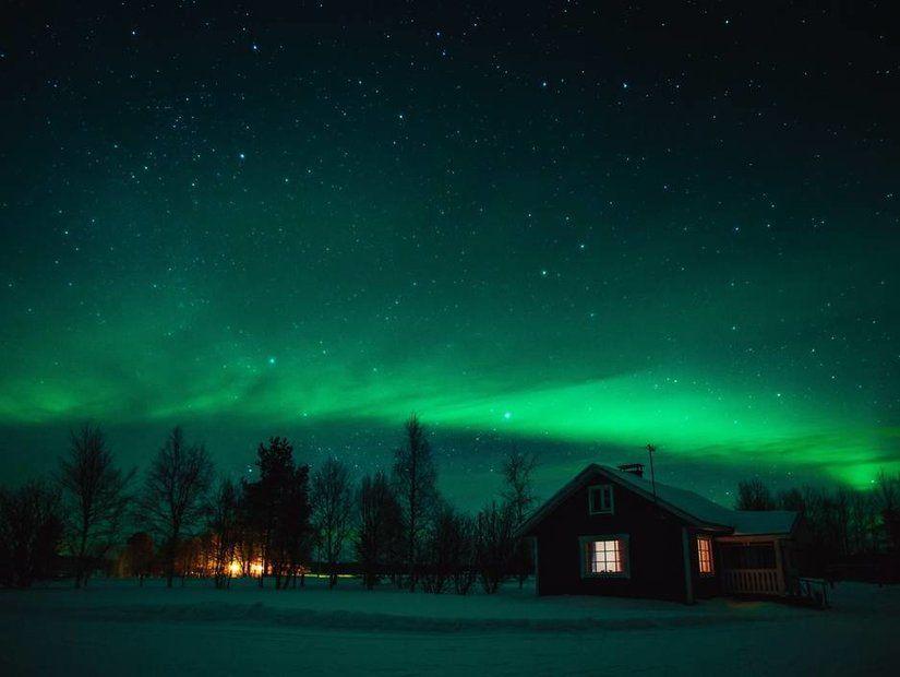 3- Kutup ışıklarını izlemek için ideal