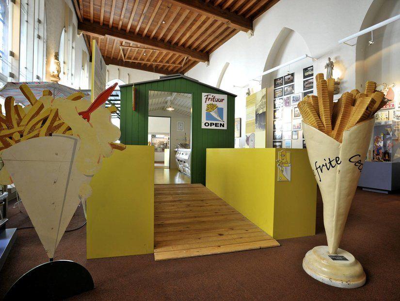 3- Patates Kızartması Müzesi – Belçika