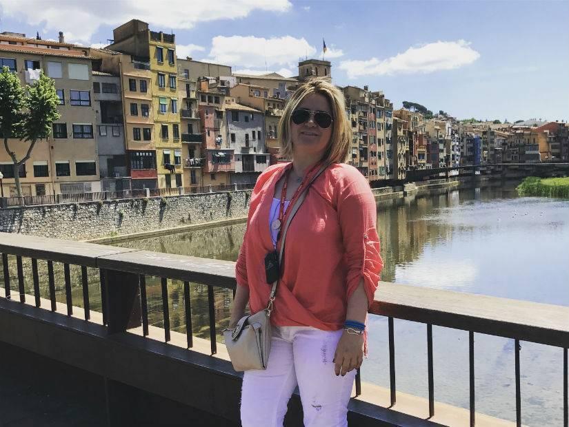 Şirin evleriyle Girona