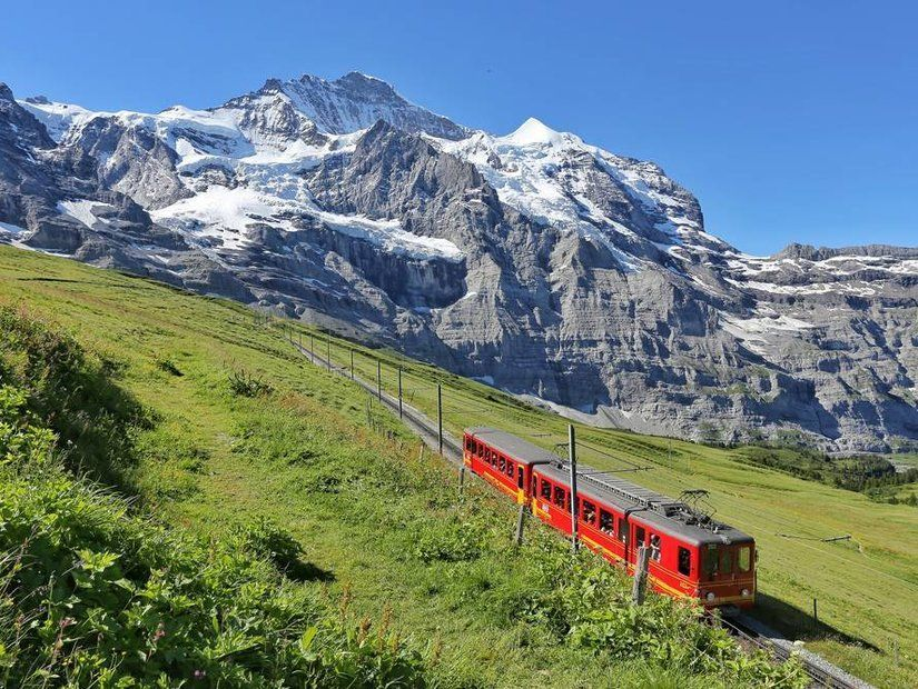 1- Glacier Express / İsviçre