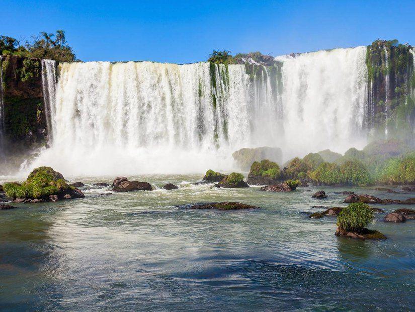 Iguazu şelalerinde görülmeye değer