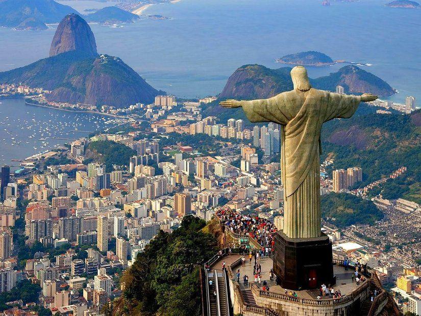Cobacabana Plajı, İsa Heykeli işte Rio de Janeiro