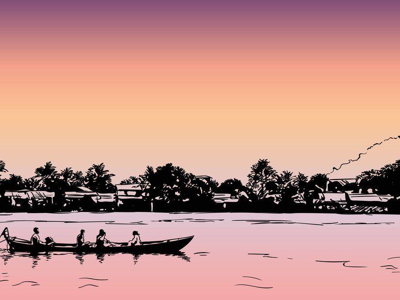 5- Tonle Sap ve yüzen evler