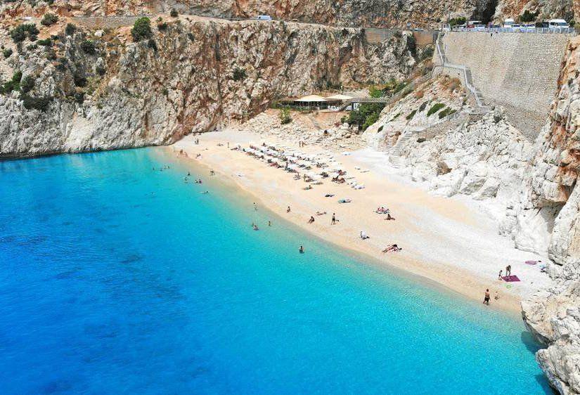 1- Kaputaş Plajı, Antalya