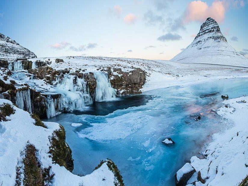 Kirkjufell, İzlanda