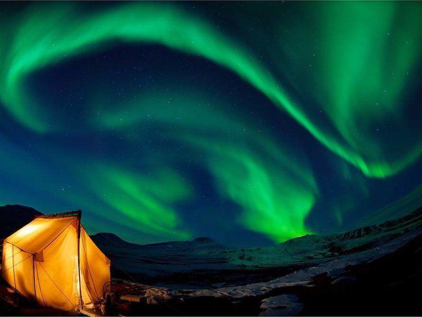 3- Kutup ışıkları nerelerde görülür?