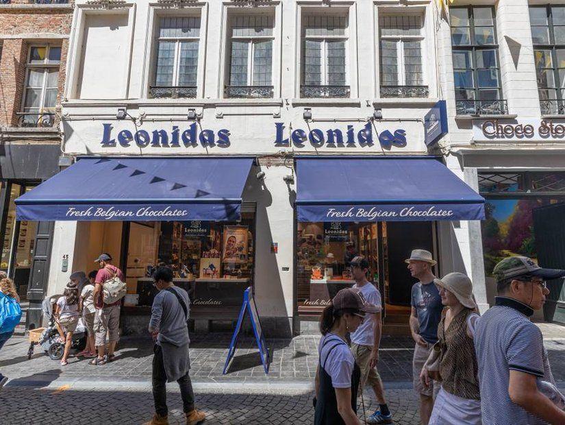 Leonidas, Brugge
