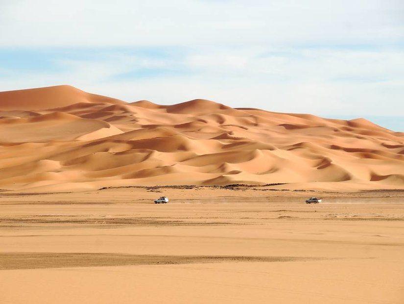 2- Libya'nın neredeyse tamamı çöl