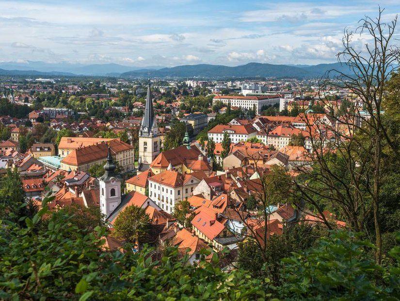 Sakin ve güzel: Ljubljana